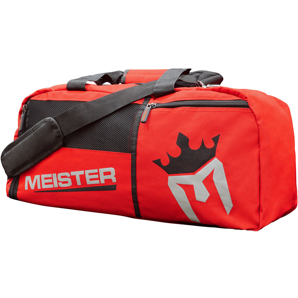 19b9f892e08c MEISTER CONVERTIBLE BACKPACK / GYM BAG - Black Sports MMA Duffle ...