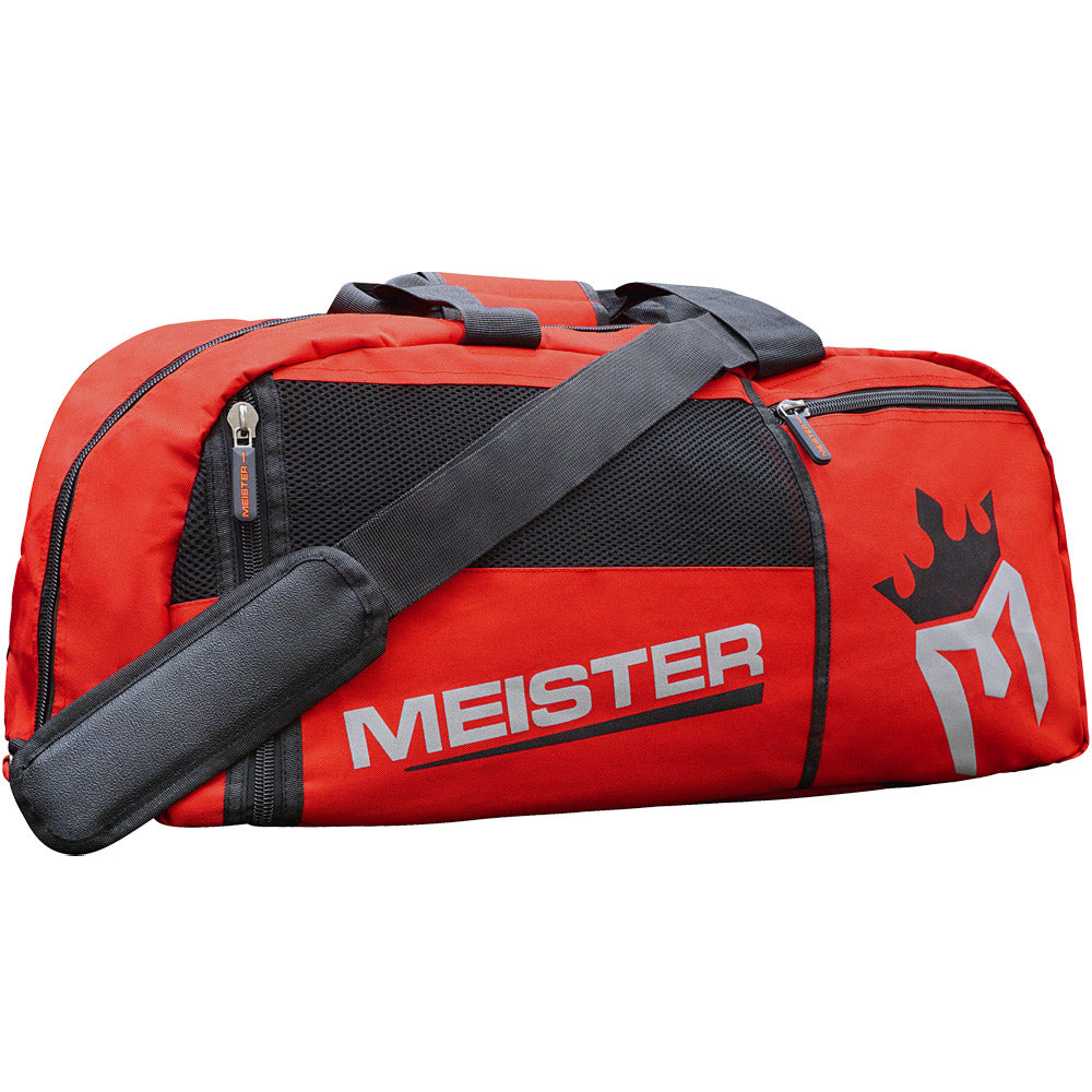 Meister Vented Convertible Backpack Duffel Bag - Red