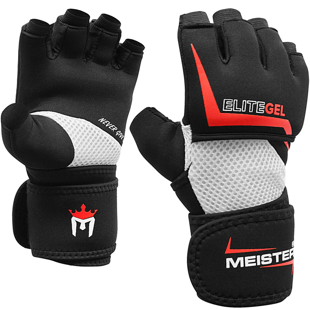 Meister Wrist Wrap Strike Gloves w/ EliteGel