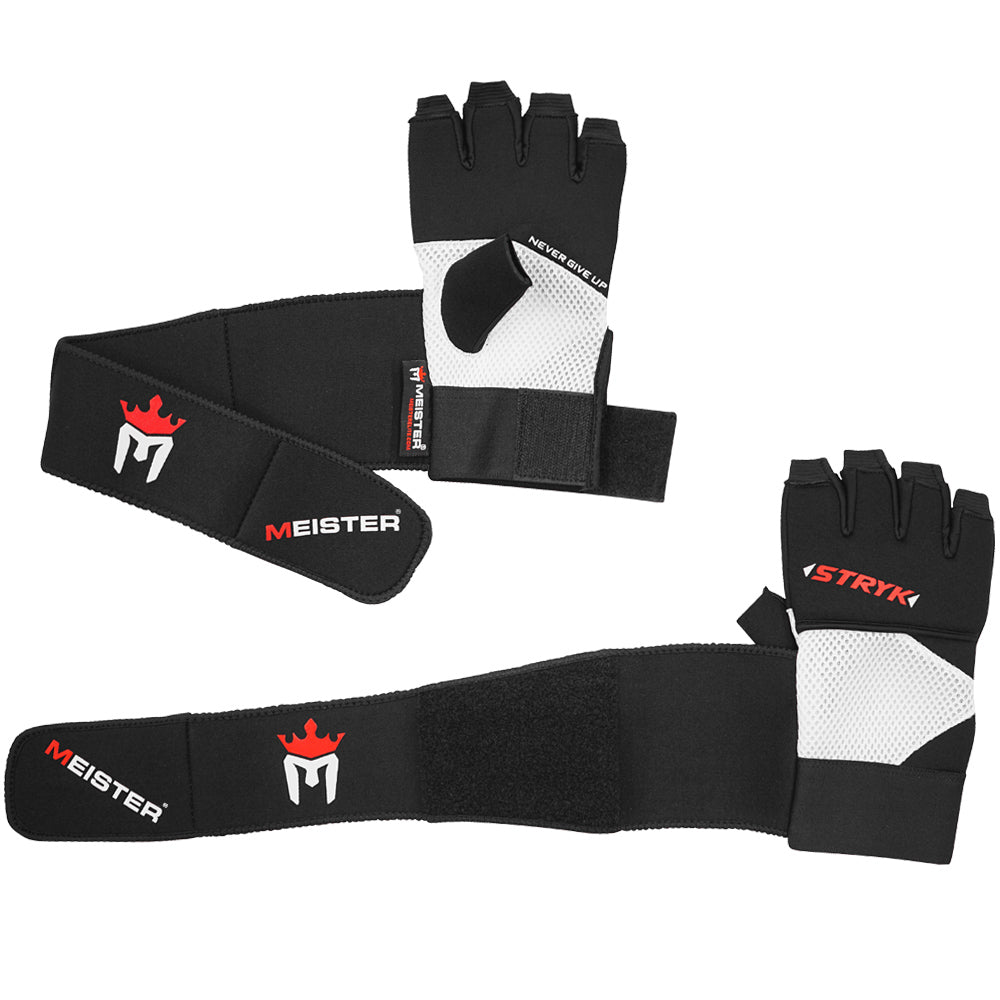 Meister Wrist Wrap Stryk Gloves w/ EliteGel