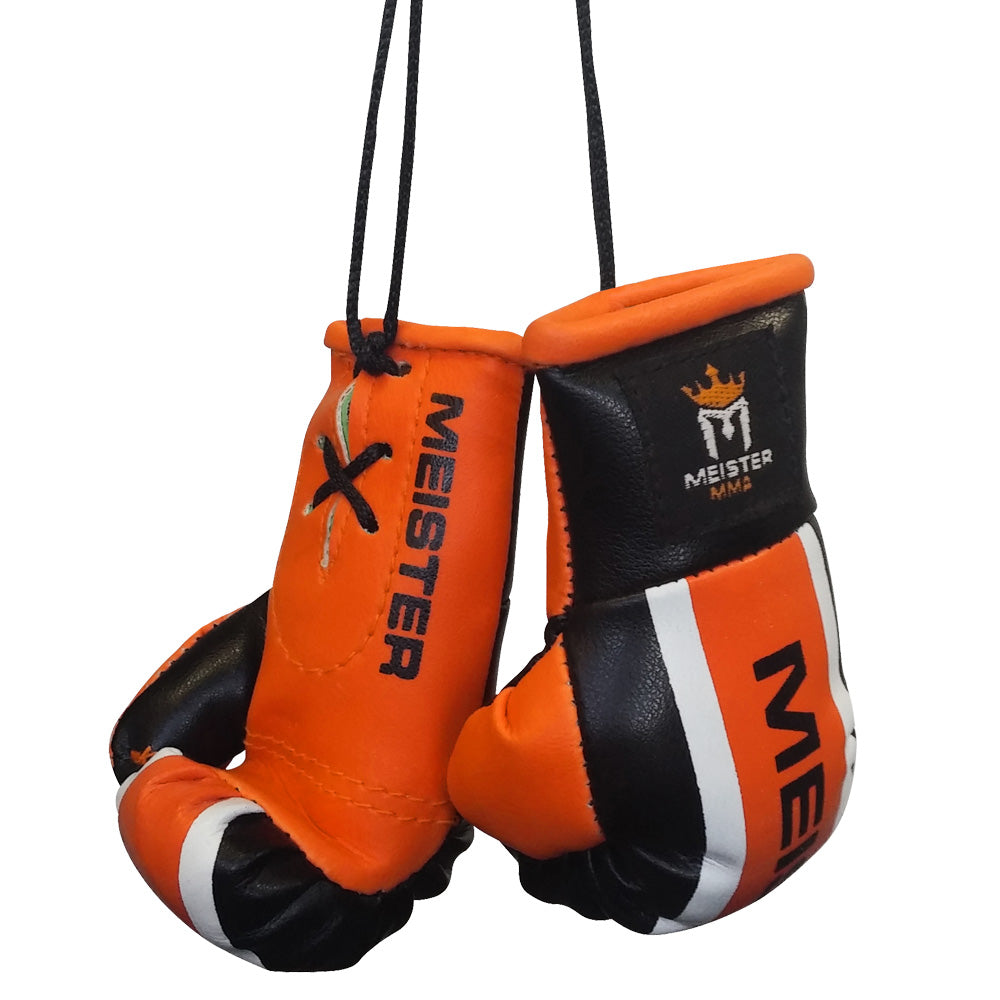 Meister Mini Boxing Gloves - Black/Orange