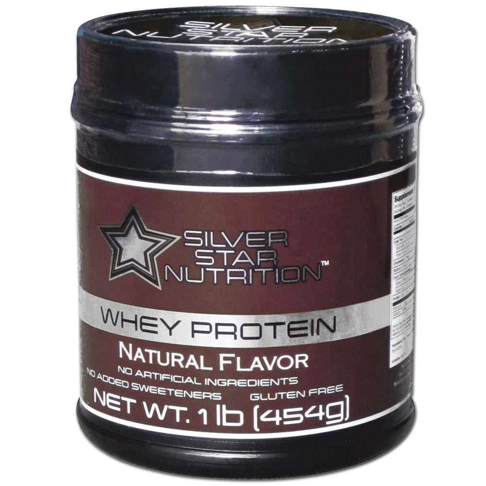 Silver Star 100% Natural Whey Protein - 1lb