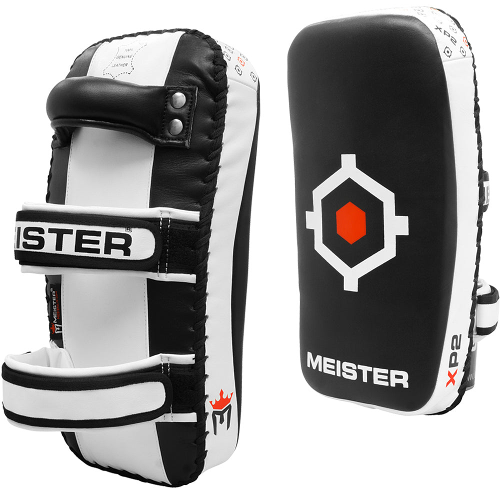 Meister XP2 Professional Curved Thai Pads - Pair