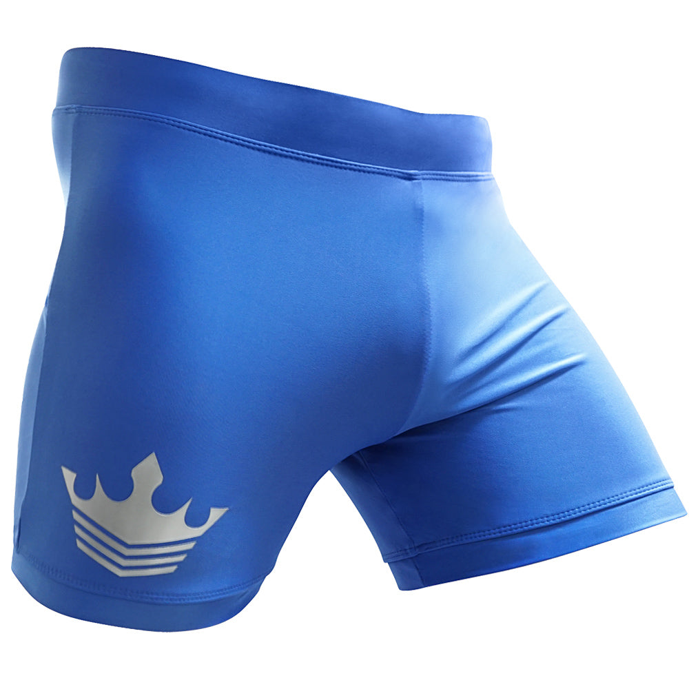 Meister Crown Vale Tudo Fight Shorts - Blue