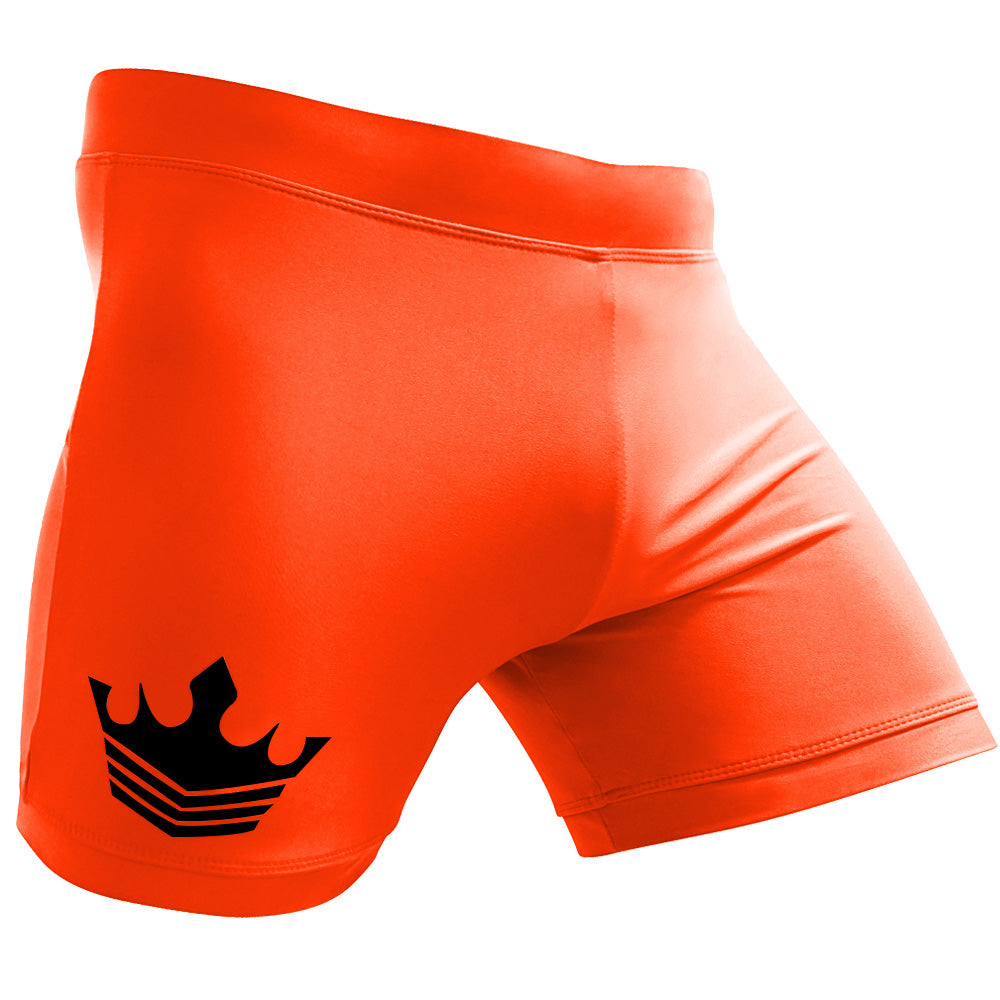Meister Crown Vale Tudo Fight Shorts - Orange