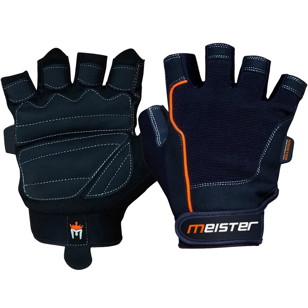 Fitness Gloves New Zealand: Meister Women's Fit Weight Lifting Gloves Ladies Gym