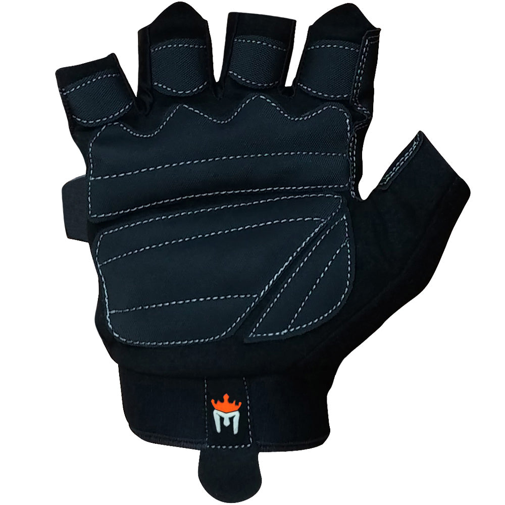Xcrossfit Weight Lifting Gloves: Colors: Black W/ Orange