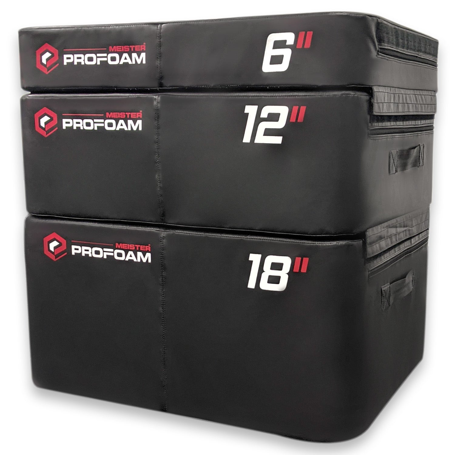 "Meister PROFOAM™ Plyo Boxes - 3 Box Set - 18"", 12"", 6"""