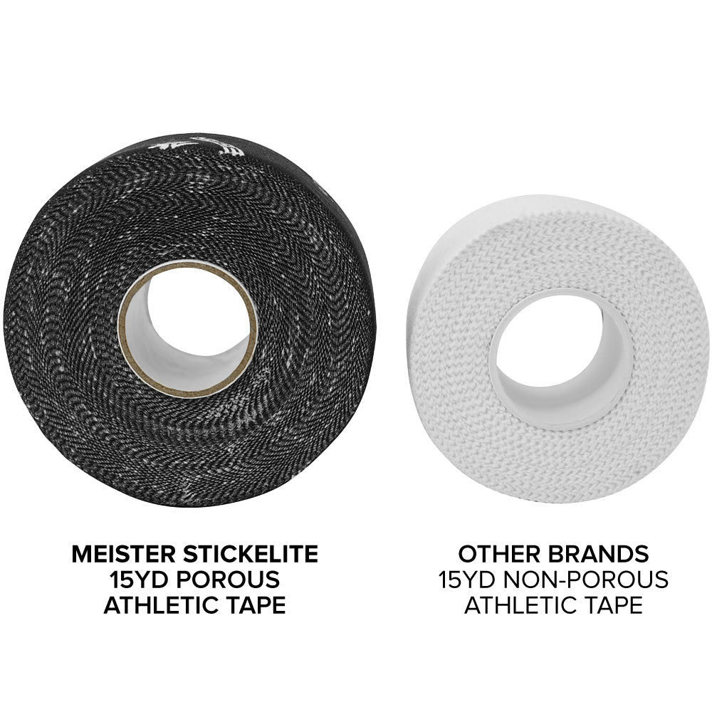 Meister StickElite™ Pro Porous Athletic Tape - 15yd Black