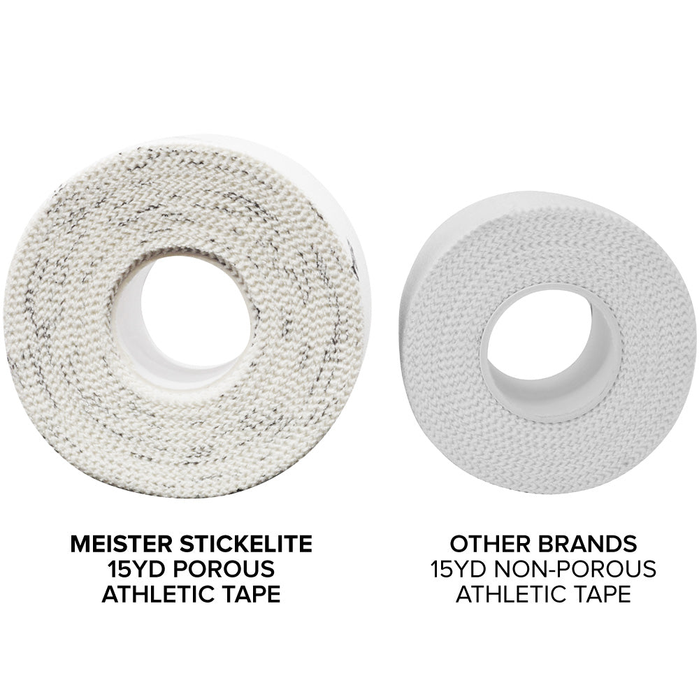 Meister StickElite™ Pro Porous Athletic Tape - 15yd White