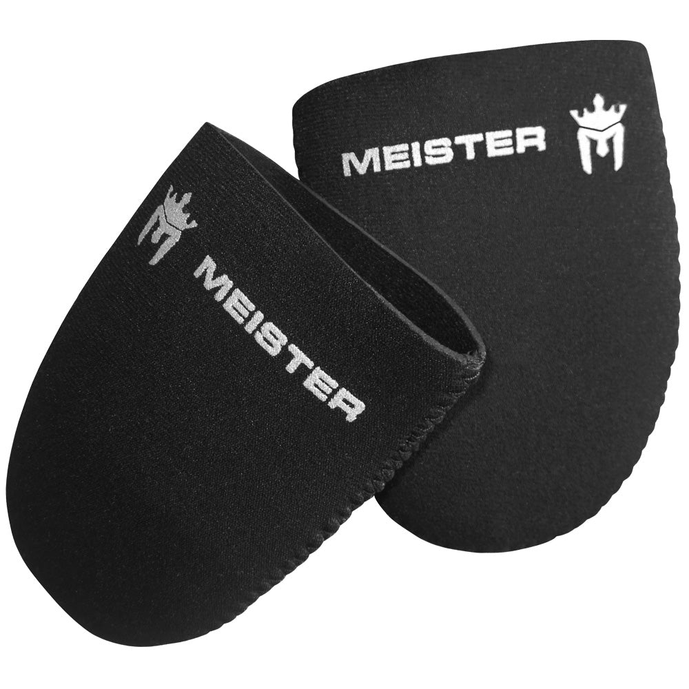 Meister Neoprene Toe Warmer Booties (Pair) - Black