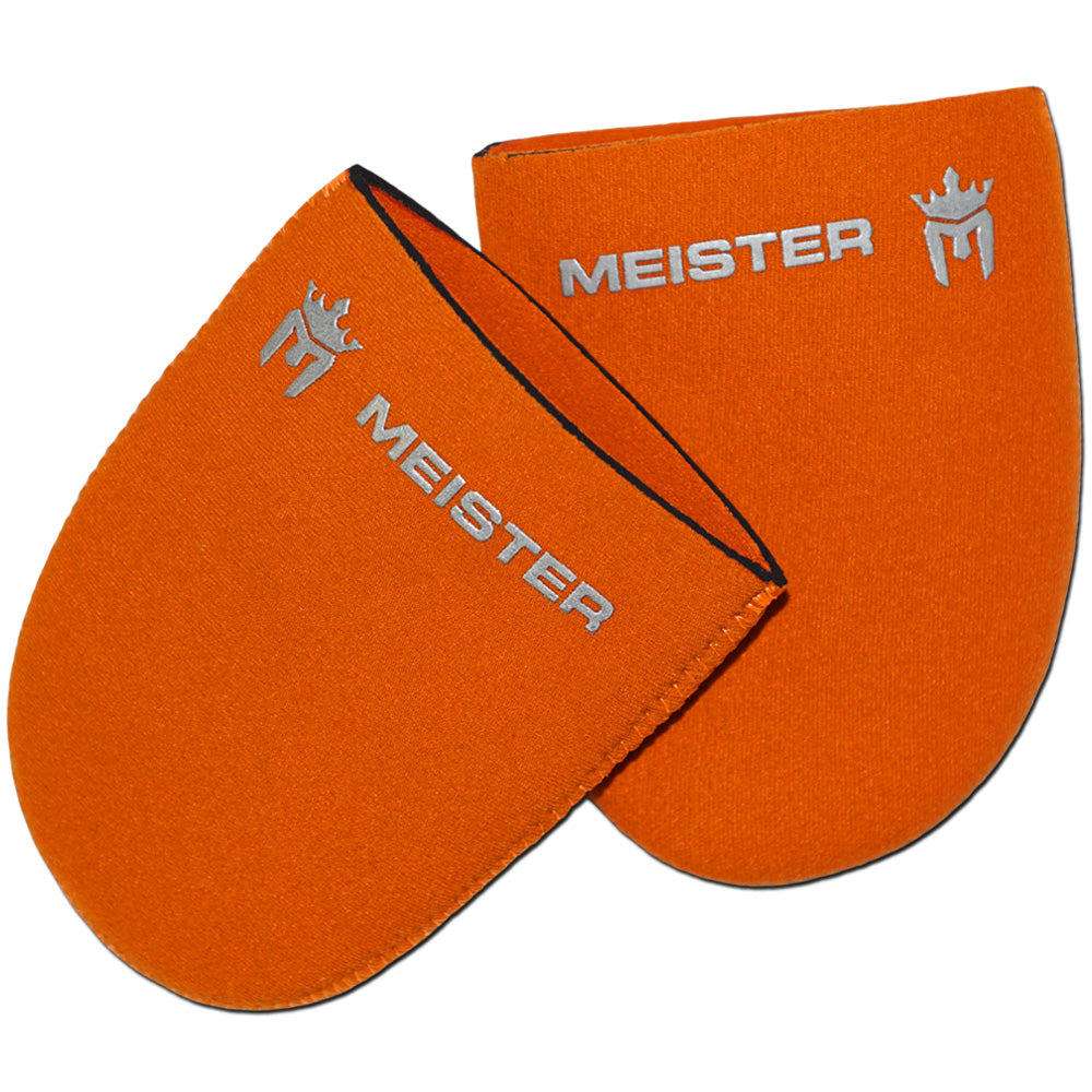 Meister Neoprene Toe Warmer Booties (Pair) - Orange