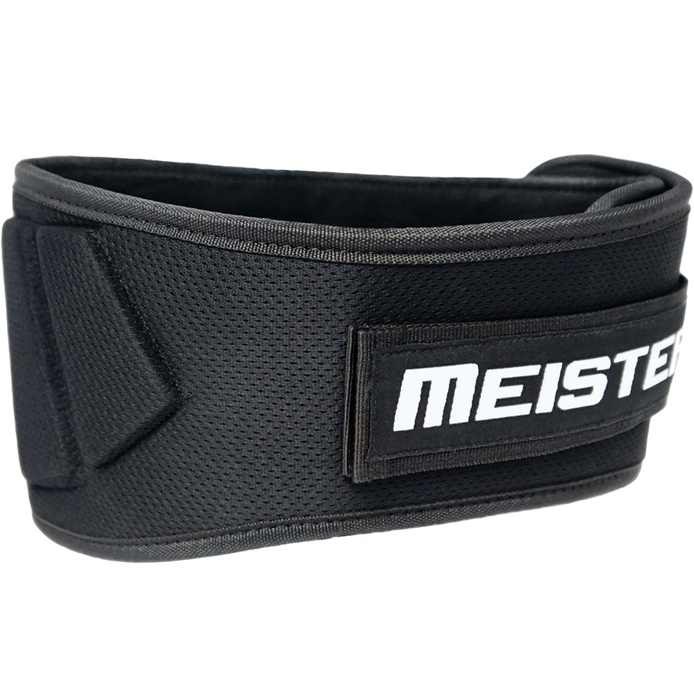 how to wear a velcro weight lifting belt