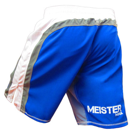 Meister Hybrid Flex Board Shorts - Blue/Gray/White