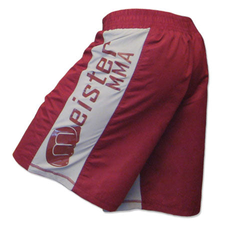Crimson Red MMA Board Fight Shorts