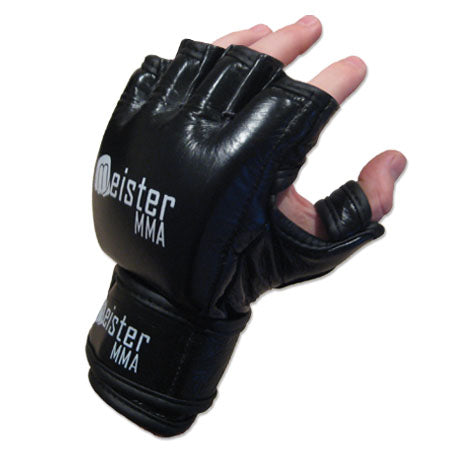 Pro 7 Ounce MMA Gloves Black