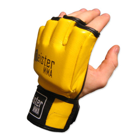 Ultimate MMA Gloves - Yellow