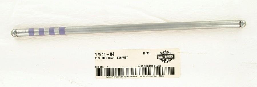 Push rod, rear - exhaust | Color:  | Order Number: 17941-84 | OEM Number: 17941-84
