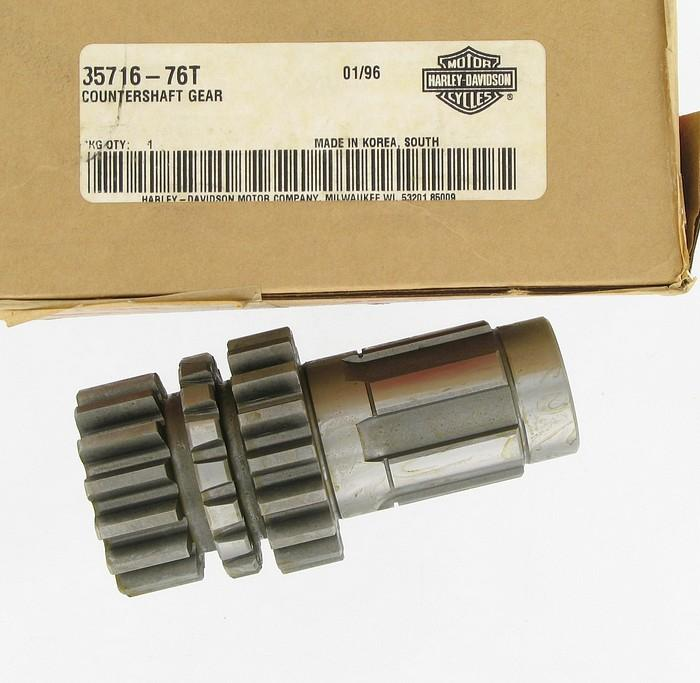 Gear, countershaft  - 15 & 17 T | Color:  | Order Number: 35716-76T | OEM Number: 35716-76T