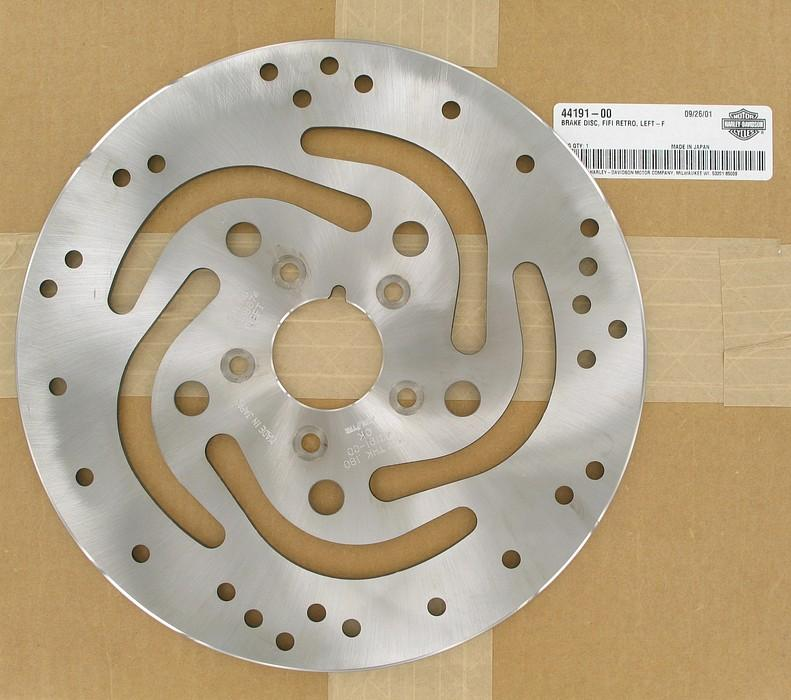 Brake disc, fifi retro, left | Color:  | Order Number: 44191-00 | OEM Number: 44191-00