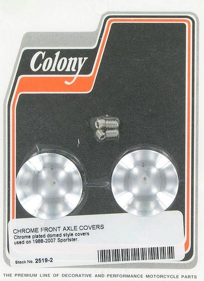 Front axle covers | Color: chrome | Order Number: C2519-2 | OEM Number: