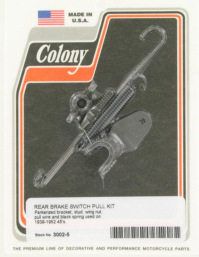 Rear brake switch pull kit | Color: prk | Order Number: C3002-5 | OEM Number: