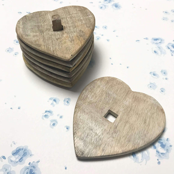 Heart Coaster Set - Dales Country Interiors