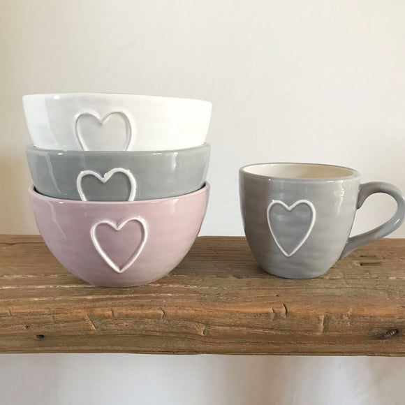 Heart Bowls - Dales Country Interiors