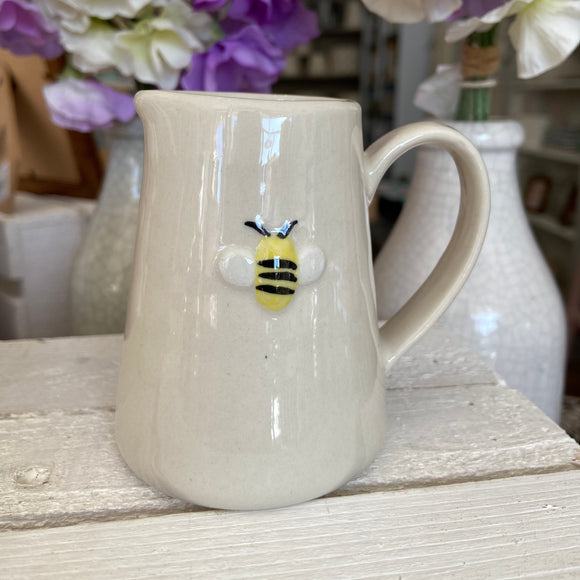 Embossed Bee Jug