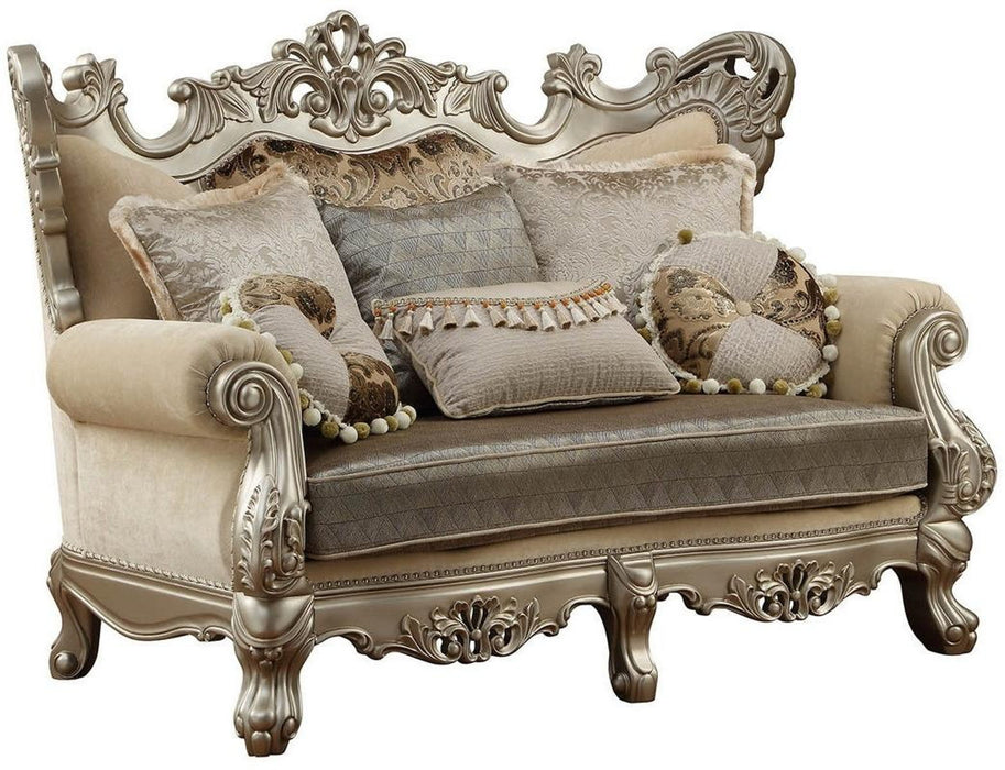 Acme Furniture Ranita Loveseat in Champagne 51041 image