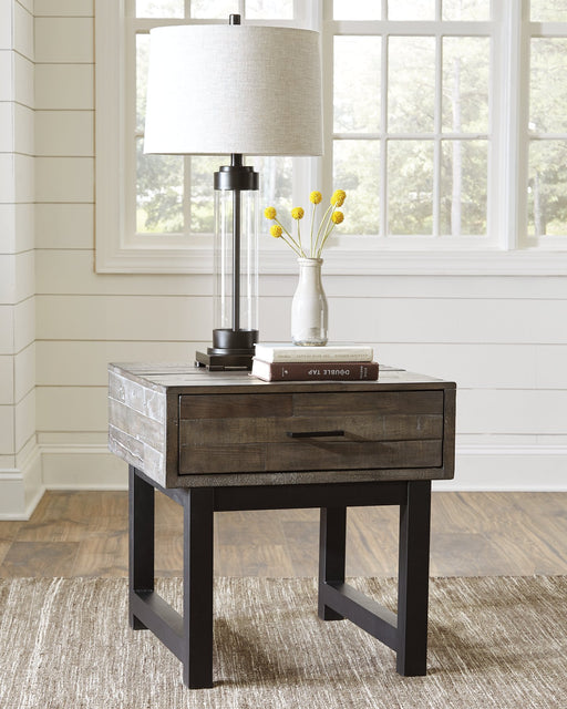 Mondoro Signature Design by Ashley End Table image