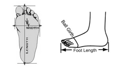 Le Cuore Measure Your Feet