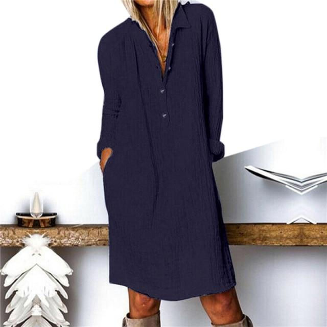 Bethany - Loose Autumn Dress