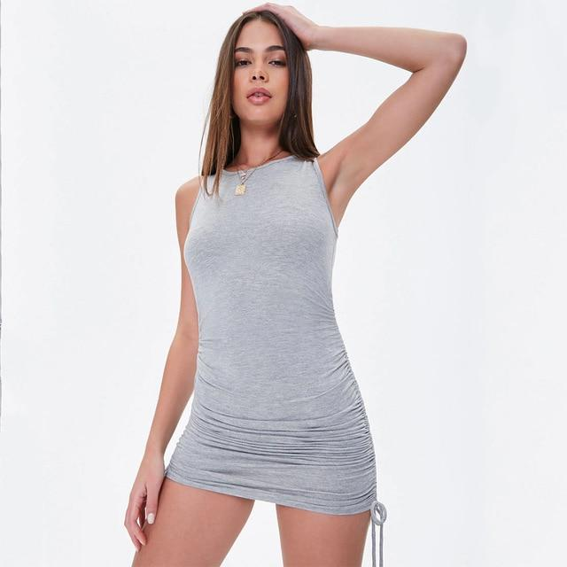 Cindy - Elastic Mini Dress