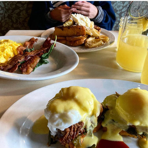 Deep South Benedict from Sassafras American Eatery