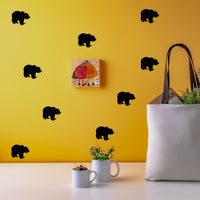 Bear wall stickers