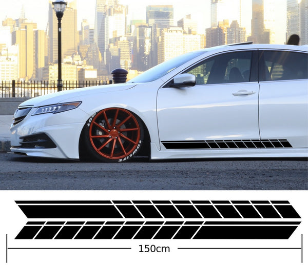 Universal Car Side Stripes Stickers Decals