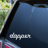 Dapper Car Sticker
