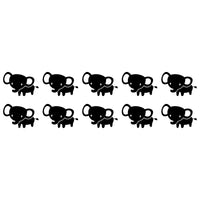 Elephant Wall Tile Stickers