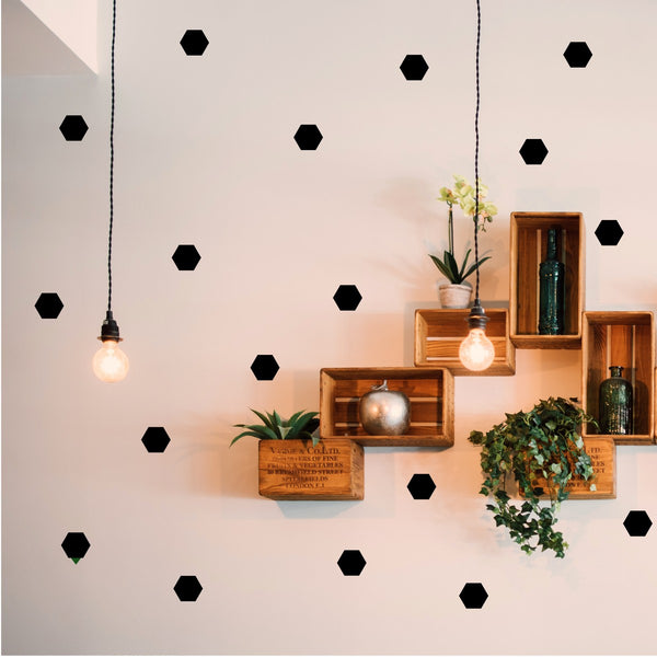 Hexagon Wall Art Stickers