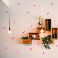 Lightning Bolt Wall Stickers