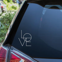 Love Car Sticker