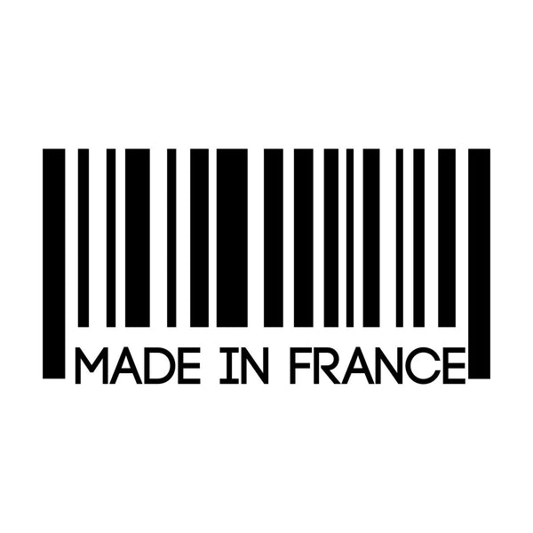 Made In France Car Sticker