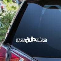 masDUBation Car Sticker