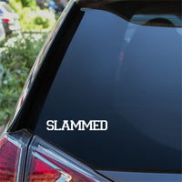 SLAMMED Car Sticker