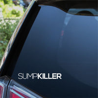 SUMP KILLER Car Sticker
