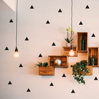 Triangle Wall Art Stickers