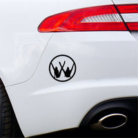 VW Girls Car Sticker