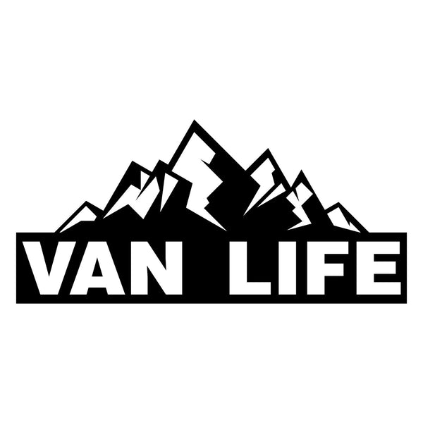 VAN LIFE Mountain Car Sticker