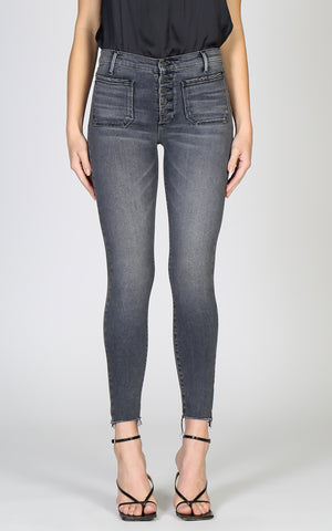 Ava Patch Pocket Skinny